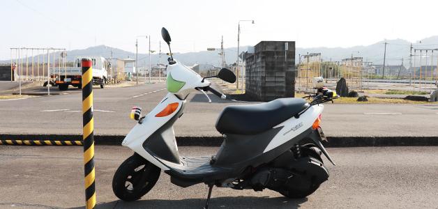 普通自動二輪車(小型限定・125cc以下)(AT)